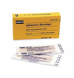 """North by Honeywell North by Honeywell Sterile Bandage 1""""x3"""""""
