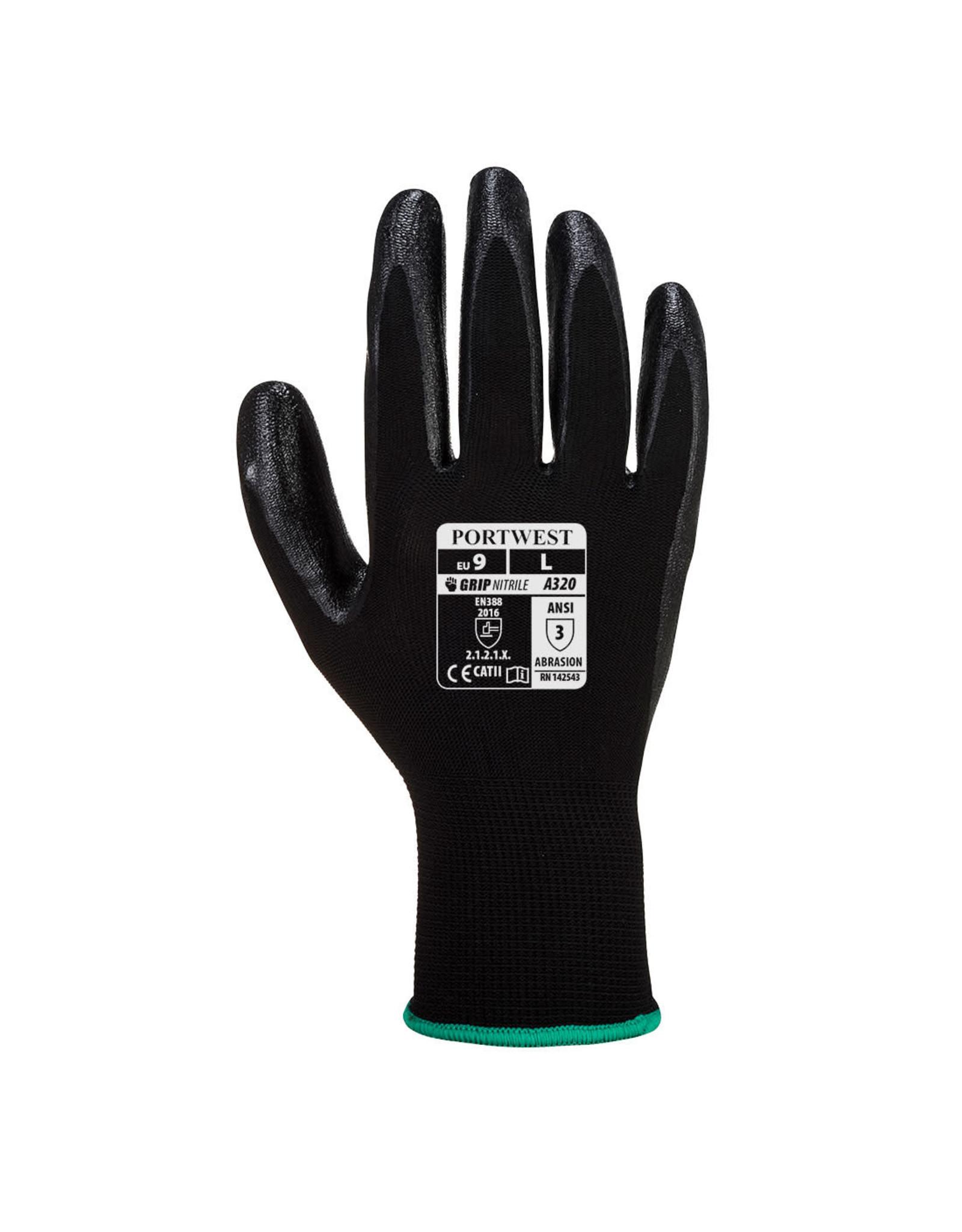 Portwest Dexti-Grip Glove - Nitrile Foam