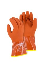 Majestic Glove Winter Lined PVC Double Dipped Glove on Seamless Knit Shell with Removable Liner XL