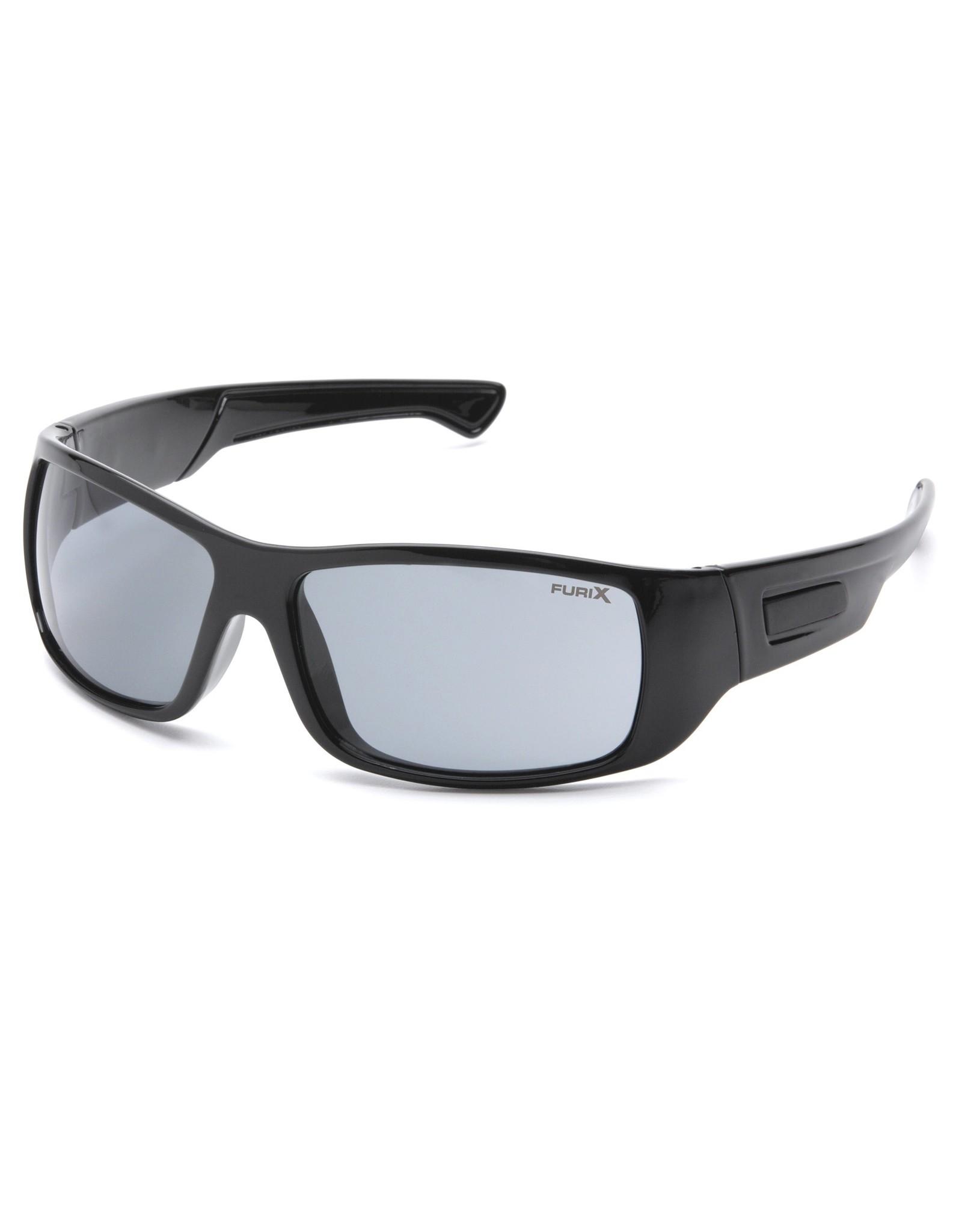 Pyramex FURIX Anti-Fog Lens with Black Frame