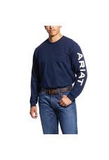 Ariat Ariat Men's FR Pocket Logo Crew T-shirt