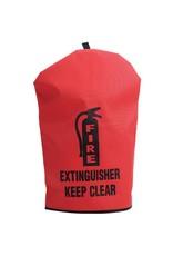 "Medium Heavy-Duty Fire Extinguisher Cover, 25"" x 16 1/2"""
