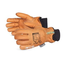Superior Glove Endura Deluxe Winter Goat-Grain Driver with WaterStop™/Oilbloc™ and Double Weight Thinsulate™ Liner