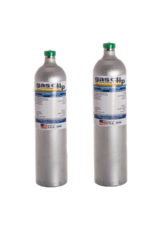 Gas Clip Technologies Gas Clip Calibration Gas, 25 ppm H2S, 100 ppm CO, 18% O2  & 50% LEL (2.5% vol Methane) 58L