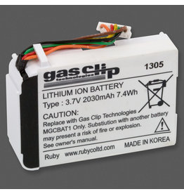 Gas Clip Technologies Gas Clip MGC Replacement Lithium Ion Battery