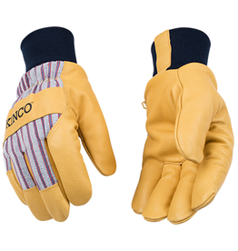 Kinco 1927KW™ Lined Premium Grain Pigskin Palm With Knit Wrist