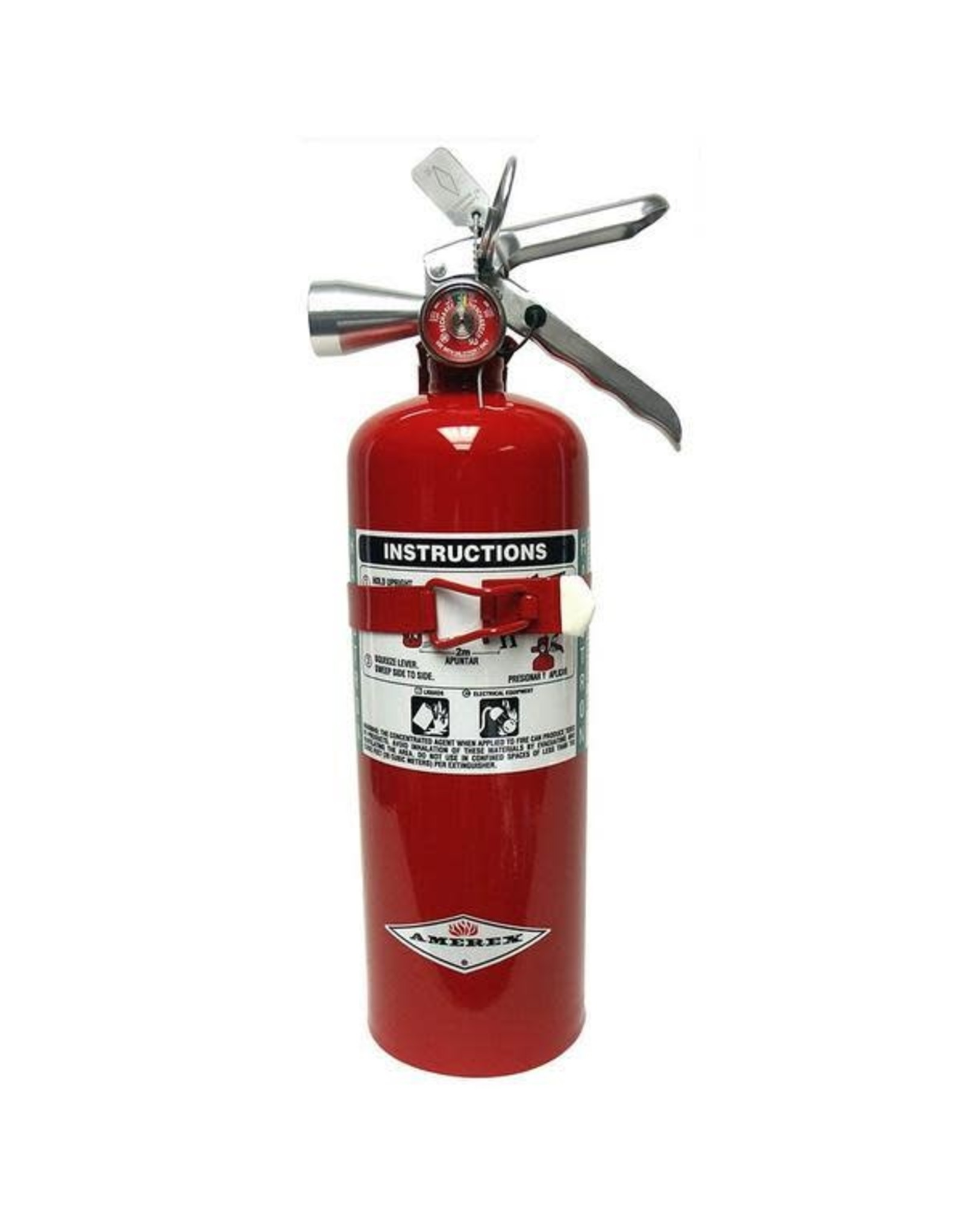 Amerex Amerex ABC Dry Chemical Fire Extinguisher