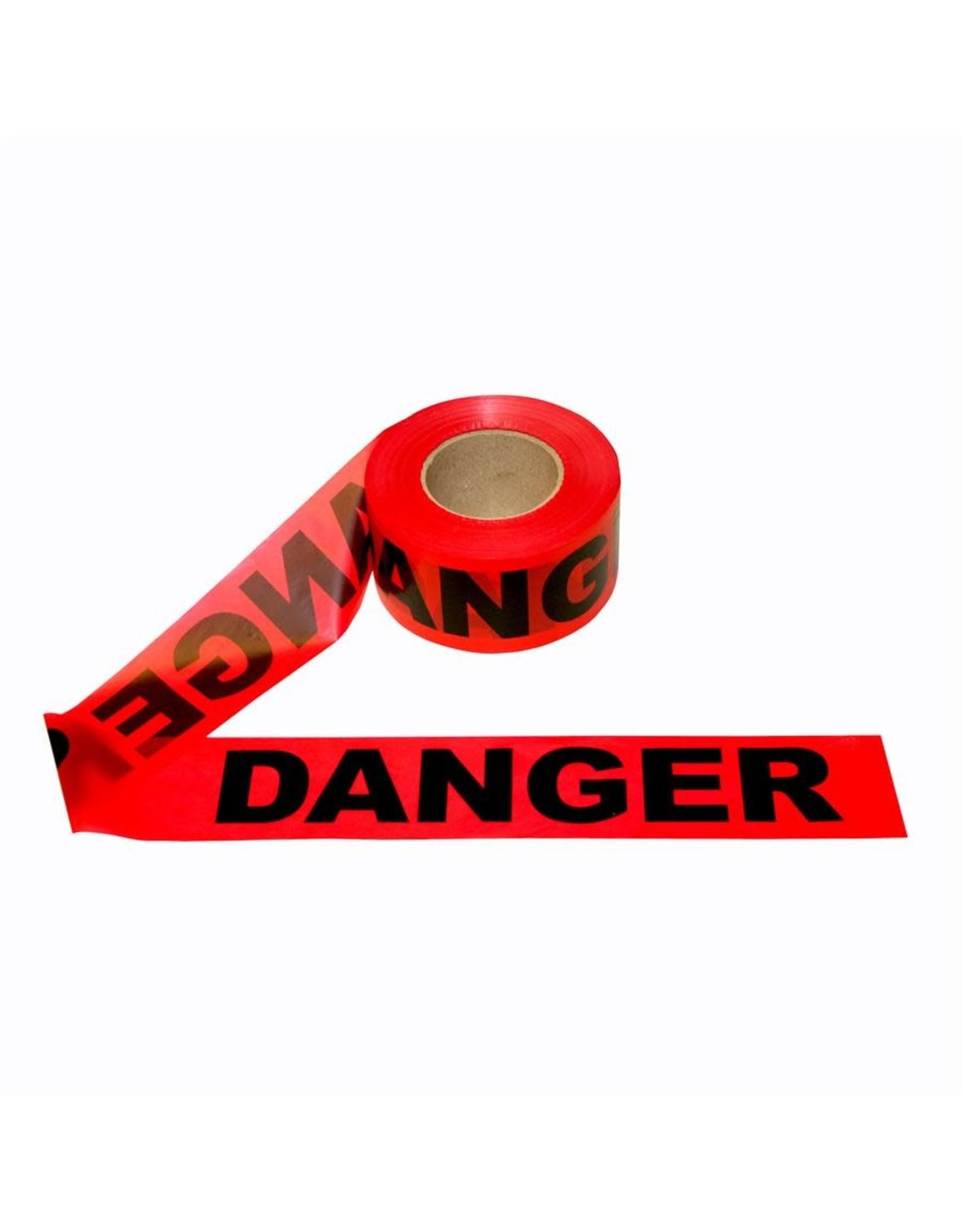 Cordova Cordova Safety Products 1000' 1.5 mil Danger Barricade Tape