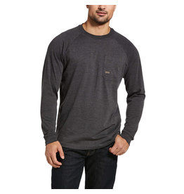 Ariat Rebar Cotton Strong Roughneck Graphic T-Shirt Charcoal