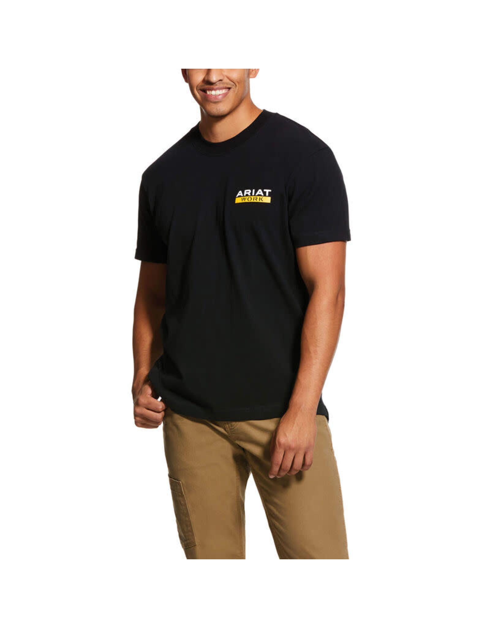 Ariat Rebar Cotton Strong Roughneck Graphic T-Shirt