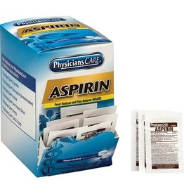Physicians Care Aspirin Tablets Box of 100
