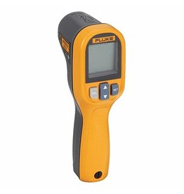 Fluke Backlit LCD, Infrared Thermometer, Single Dot Laser Sighting - Infrared