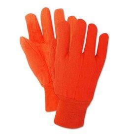 Magid Glove Magid MultiMaster Orange Double Palm Cotton Glove - 12 Pair