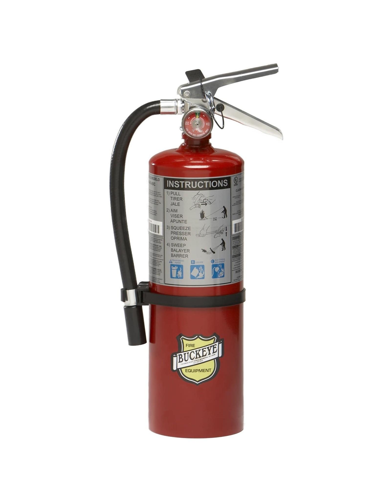 Buckeye Buckeye 5LB ABC Fire Extinguisher w/Vehicle Bracket