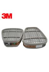 3M 3M 6001 NIOSH-Approved Organic Vapor Cartridge for 3M Respirators