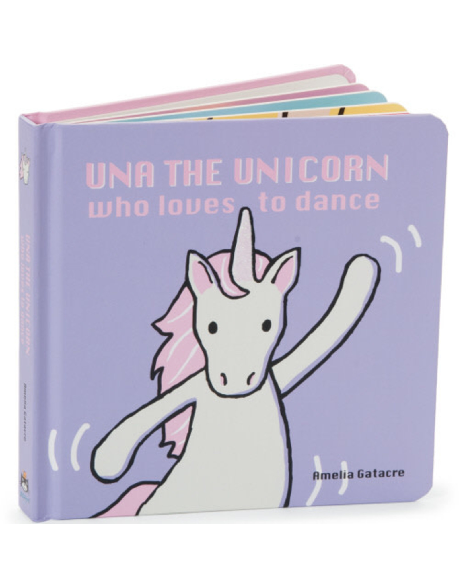 JELLYCAT UNA THE UNICORN BOOK