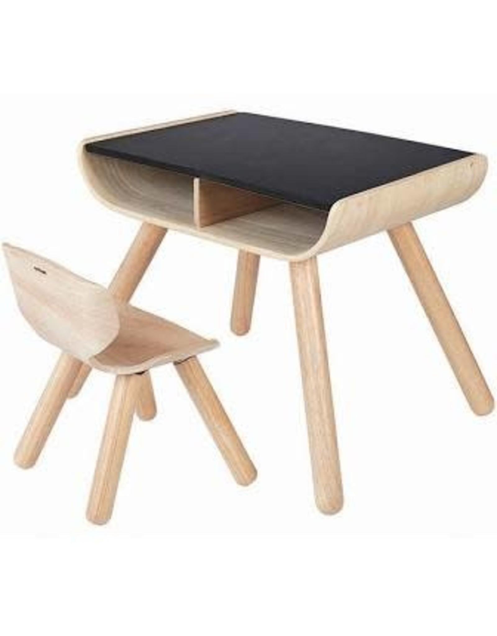 PLAN TOYS PLAN TOYS TABLE & CHAIR