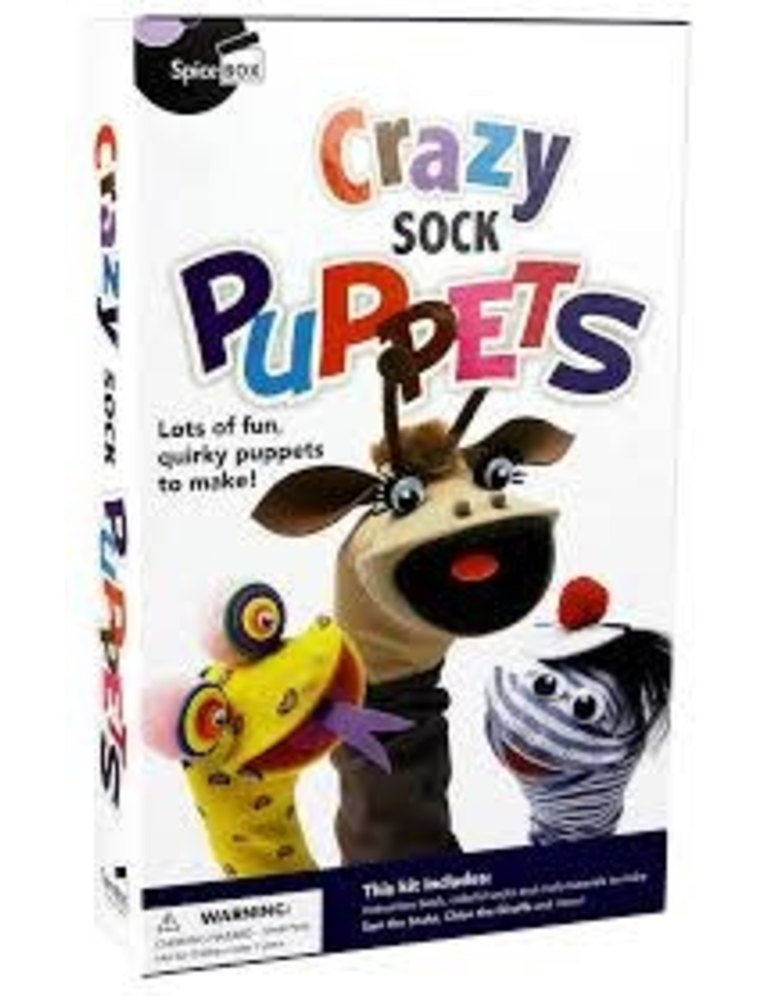SPICEBOX CRAZY SOCK PUPPETS