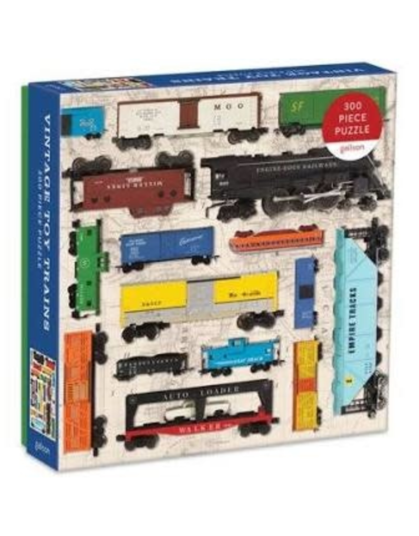 PUZZLE TOY TRAINS