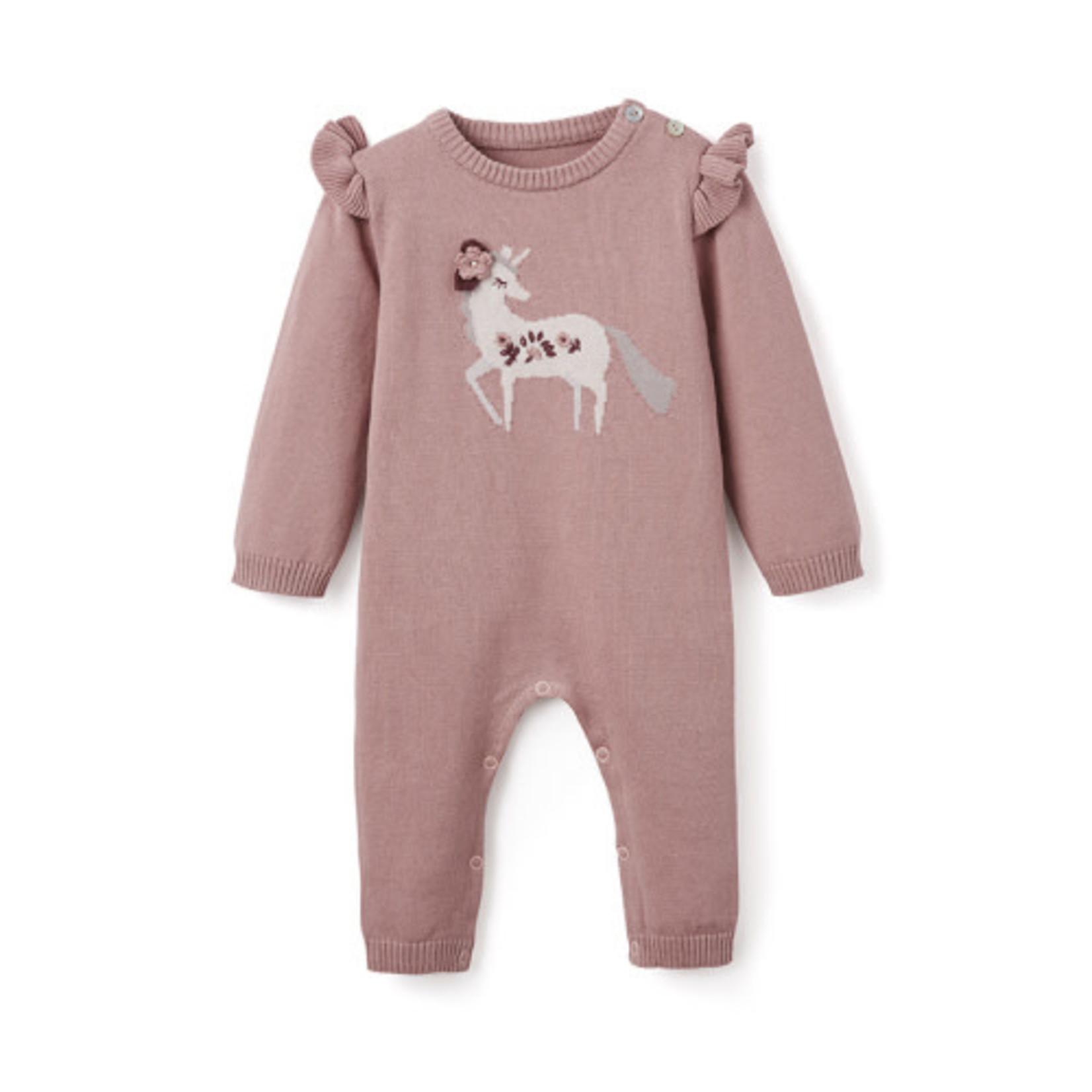 ELEGANT BABY JUMPSUIT UNICORN