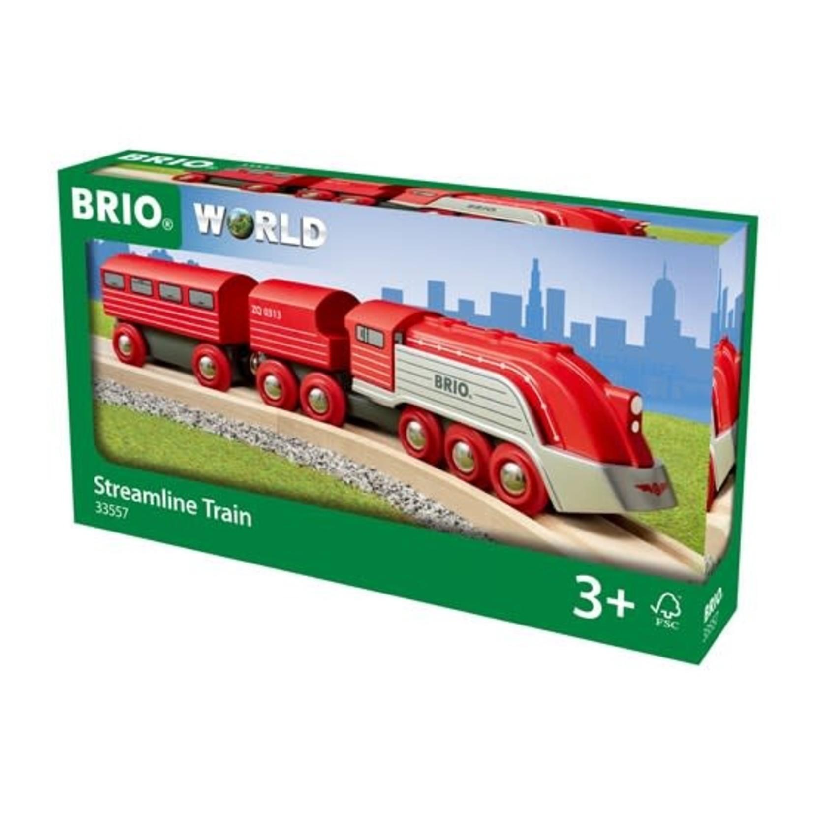 BRIO 33557 STREAMLINE TRAIN
