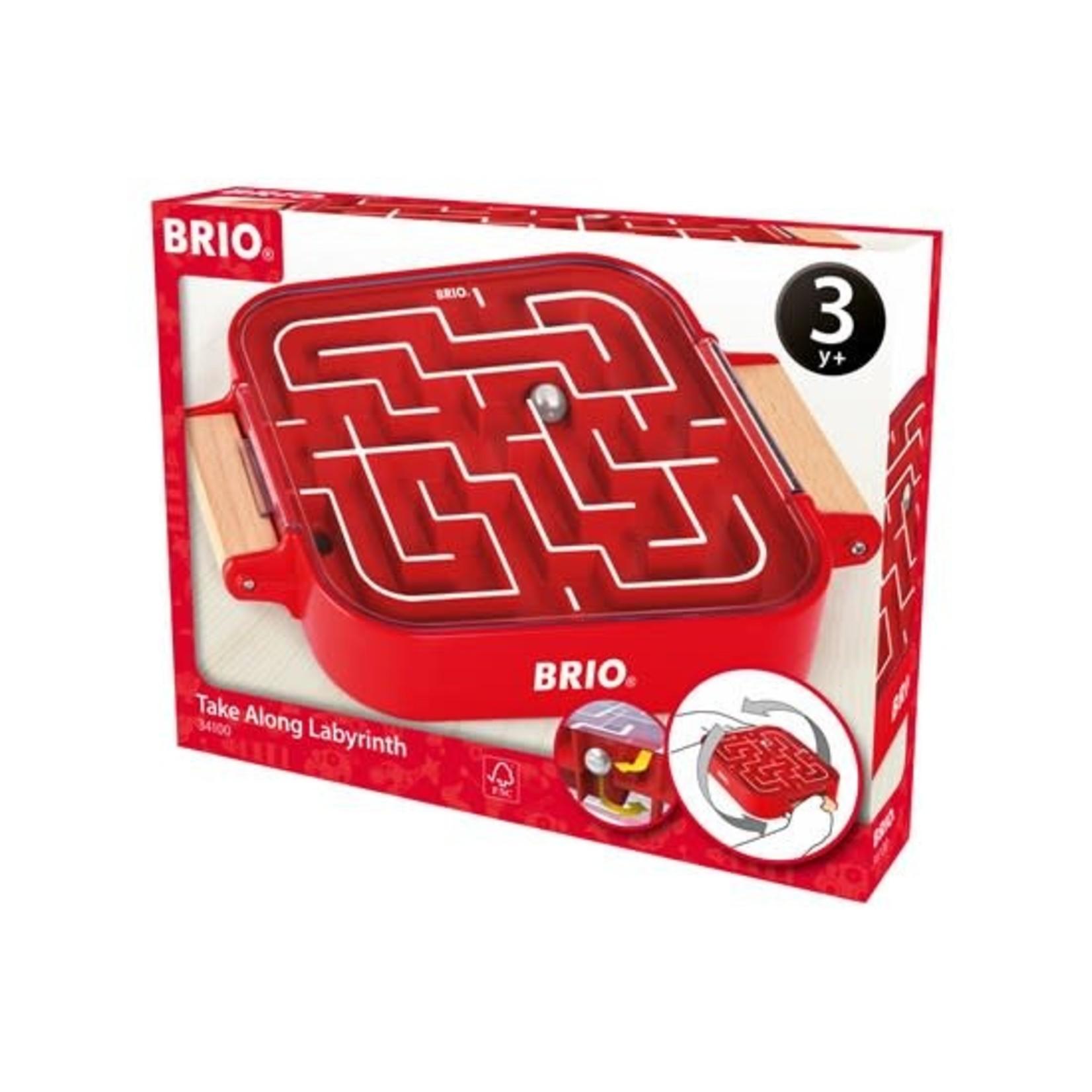 BRIO 34100 TAKE-ALONG LABRYRINTH GAME
