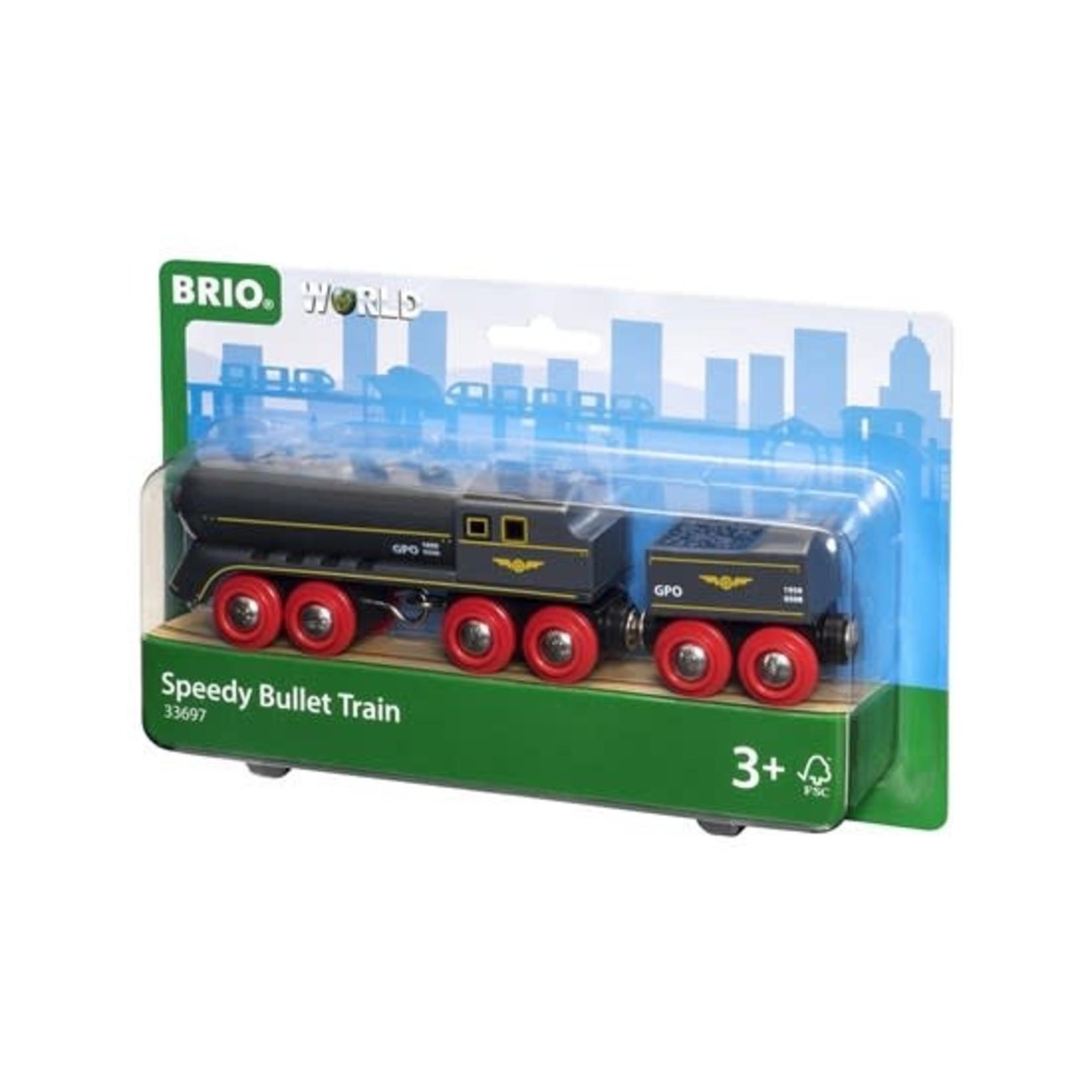 BRIO 33697 SPEEDY BULLET TRAIN