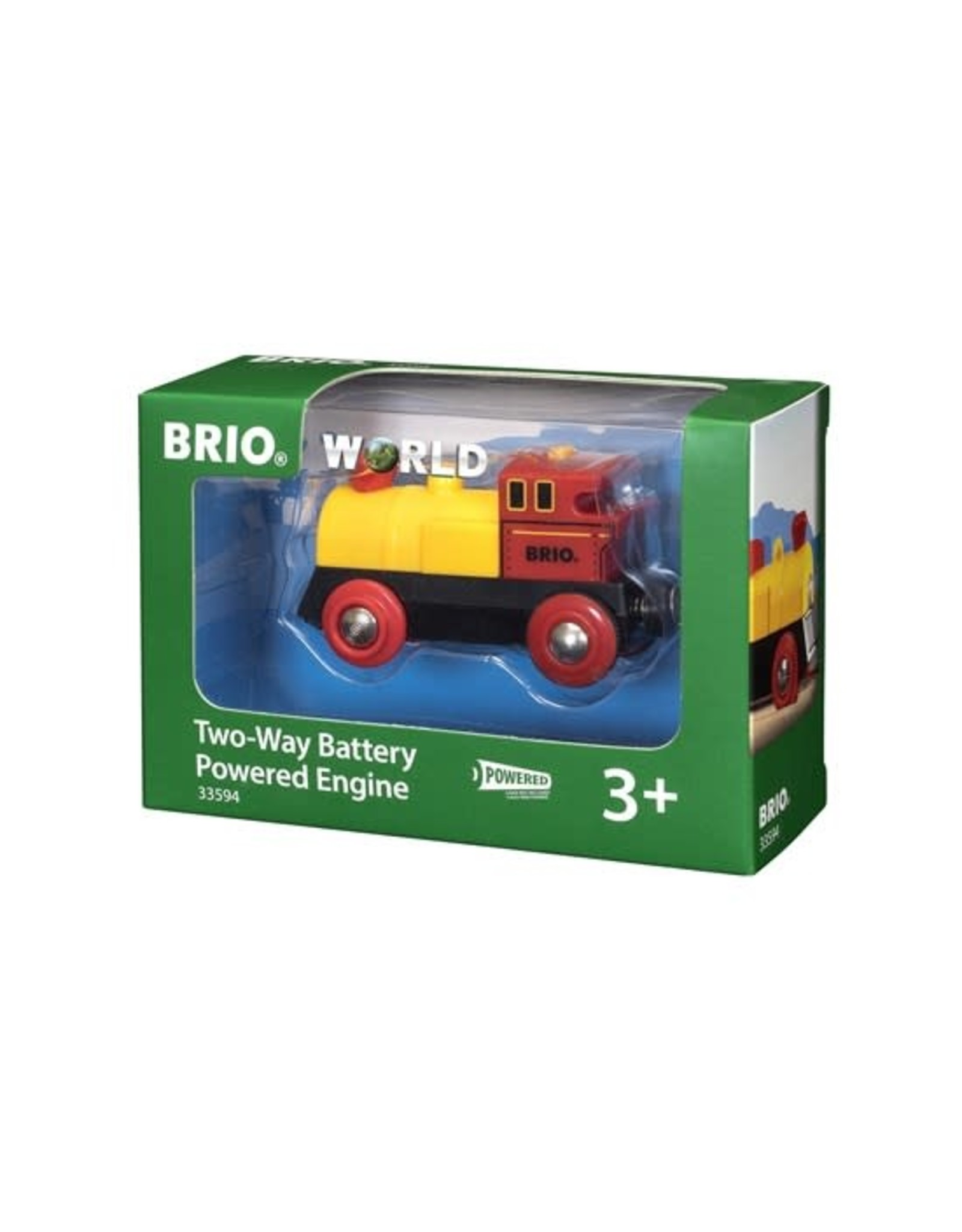 BRIO 33594 TWO WAY BATTERY POWERED ENGINE