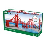 BRIO 33683 DOUBLE SUSPENSION BRIDGE