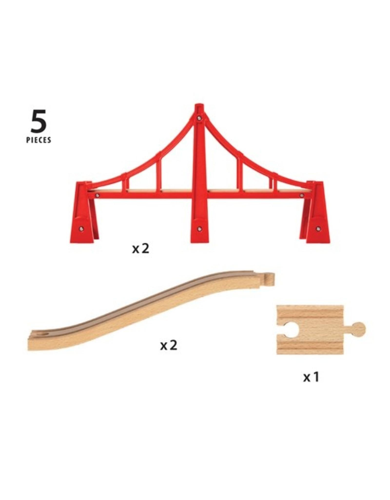 BRIO 33683 DOUBLE SUSPENSION BRIDGE