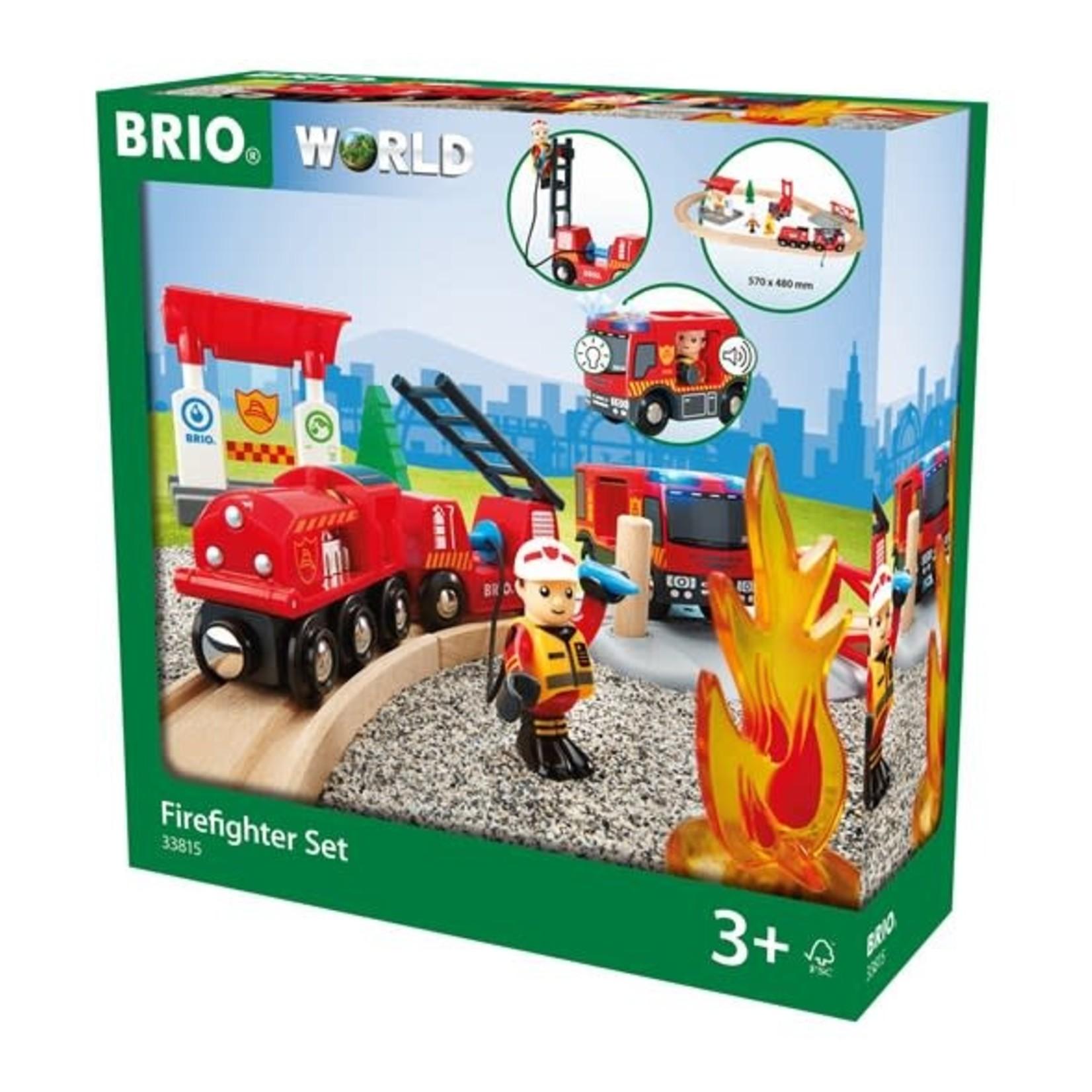 BRIO 33815 FIRE RESCUE SET