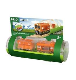 BRIO 33891 CARGO TRAIN & TUNNEL