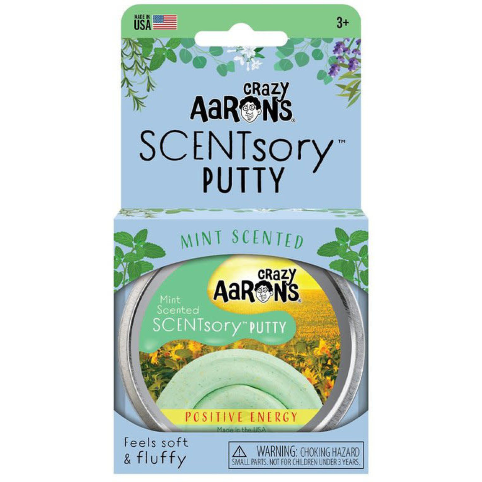 CRAZY AARON'S SCENTSORY PUTTY POSITIVE ENERGY