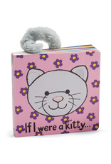 JELLYCAT IF I WERE A KITTY BOOK GREY