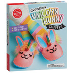 KLUTZ SEW YOUR OWN UNICORN SLIPPERS