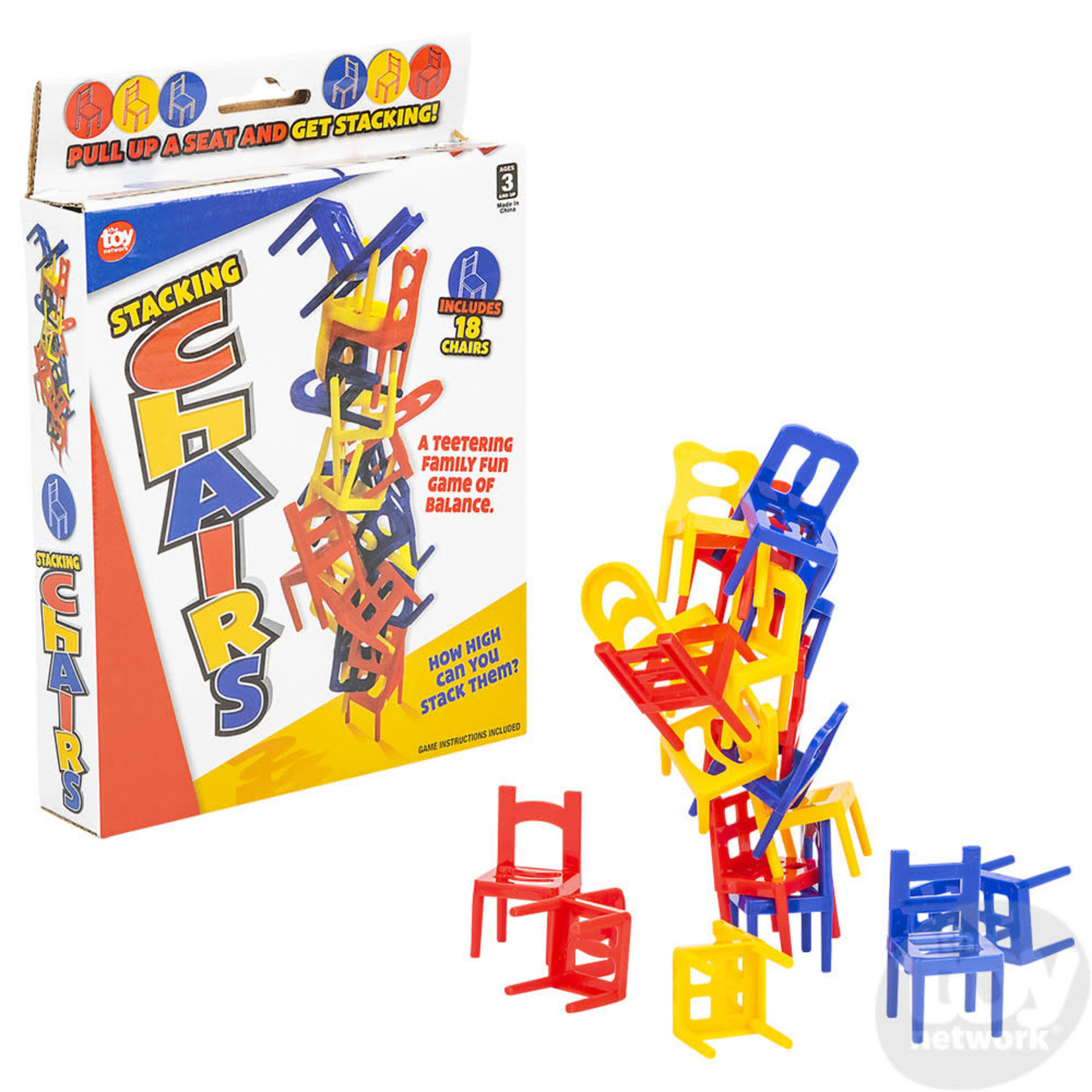 TOY NETWORK BALANCING CHAIR GAME