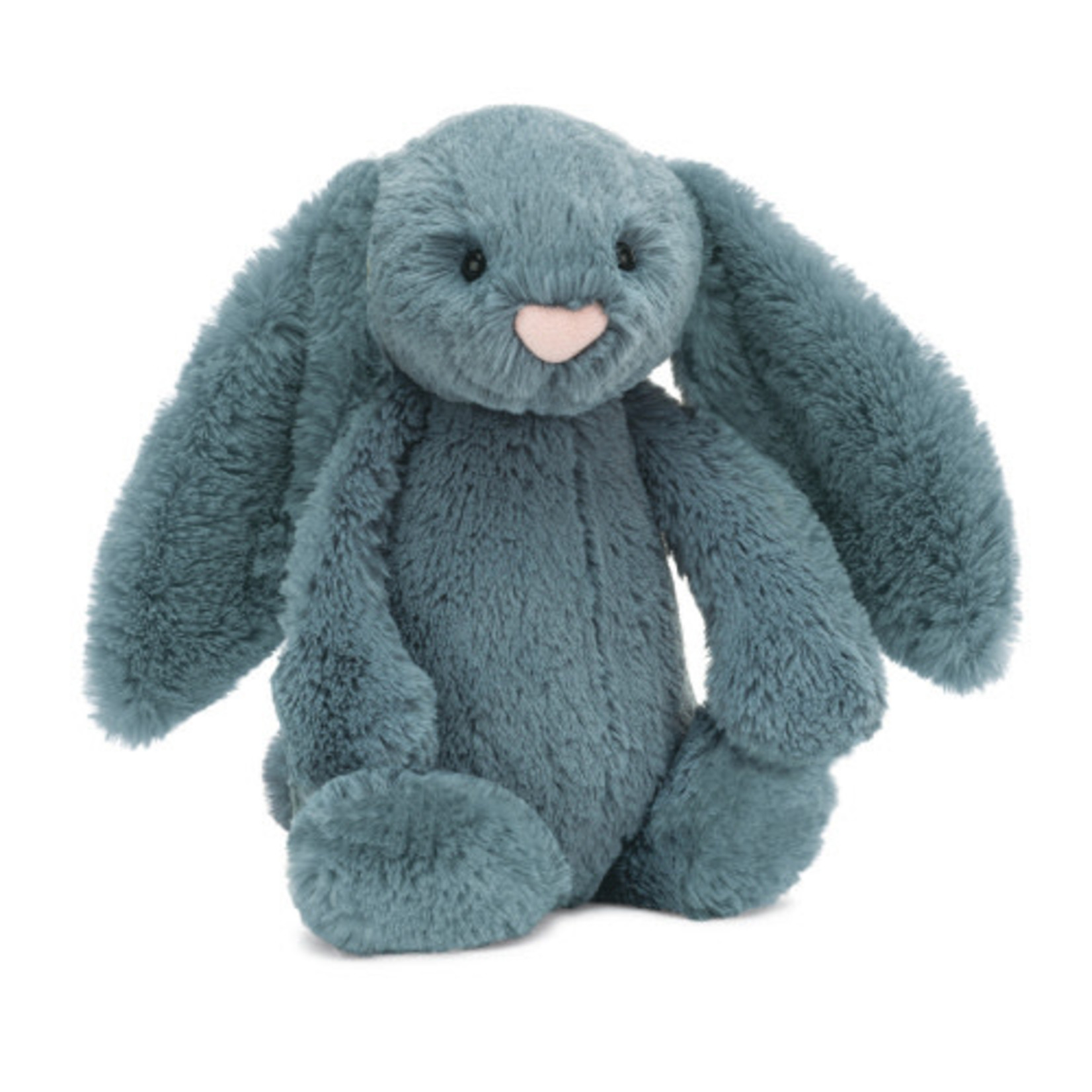 JELLYCAT SMALL BASHFUL  DUSKY BUNNY BLUE