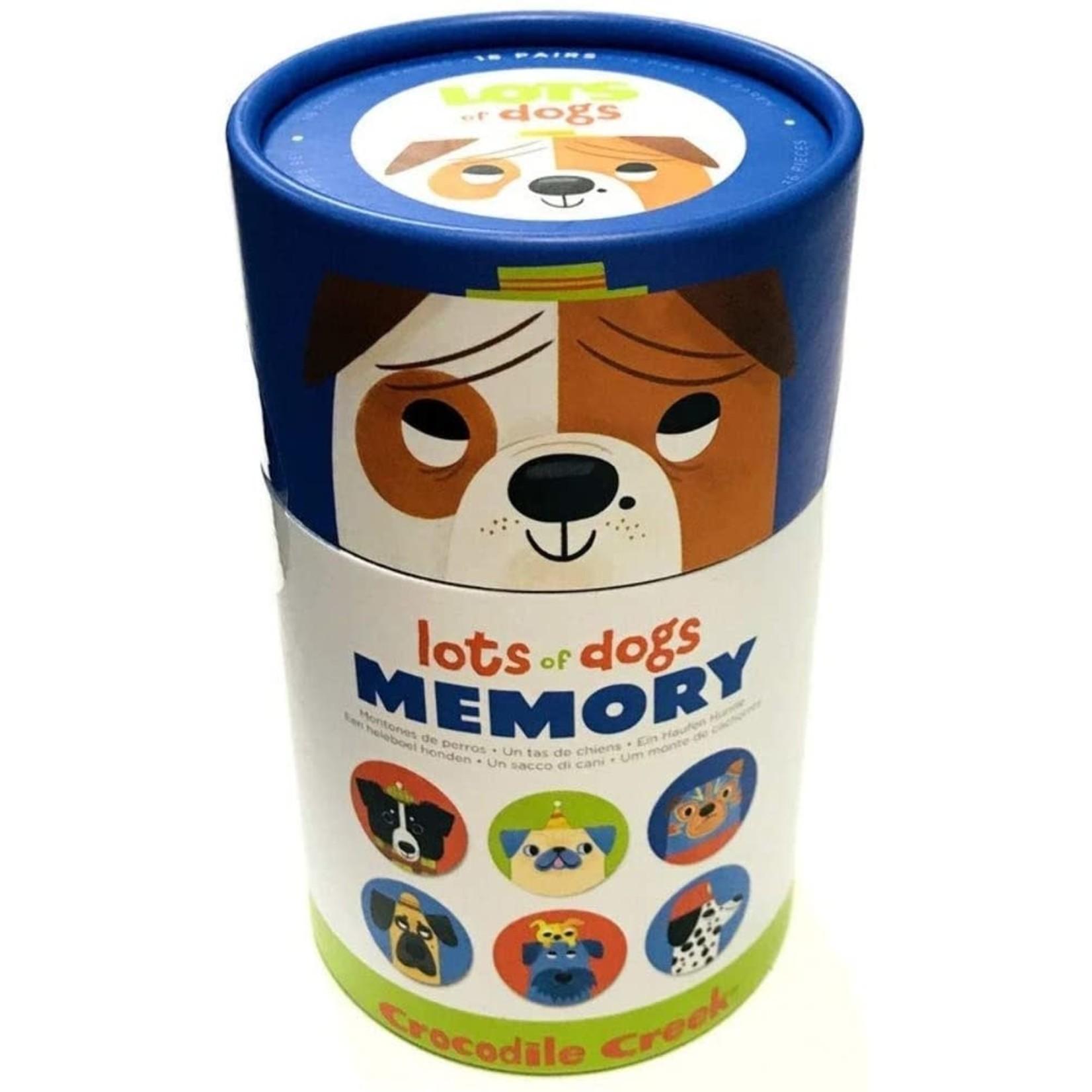 CROCODILE CREEK LOTS OF DOGS MEMORY GAME