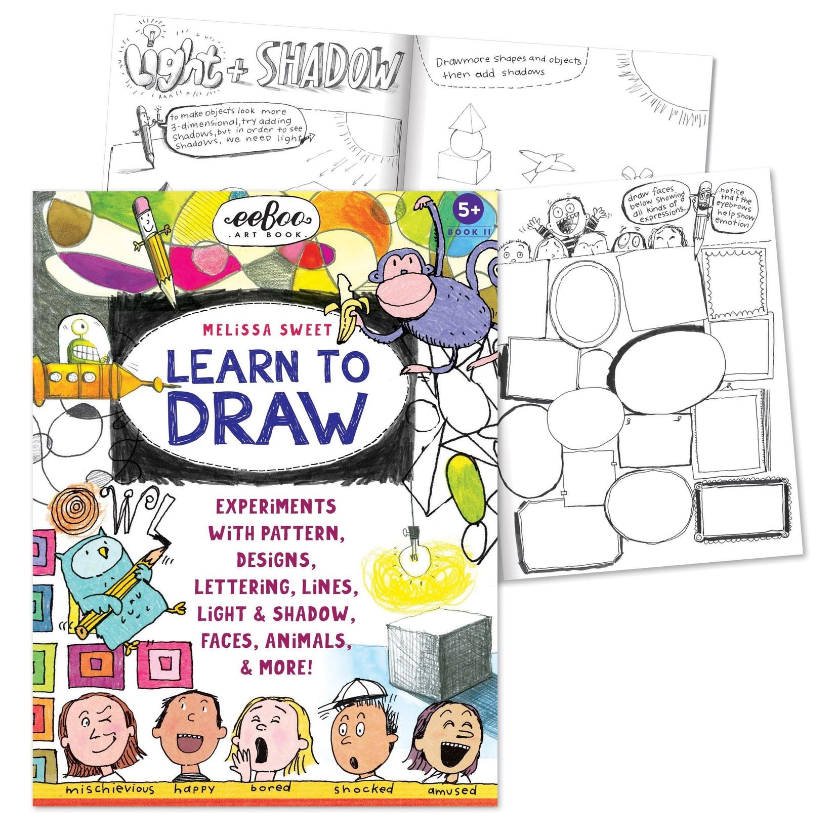 EEBOO LEARN TO DRAW WITH MELISSA SWEET ART BOOK
