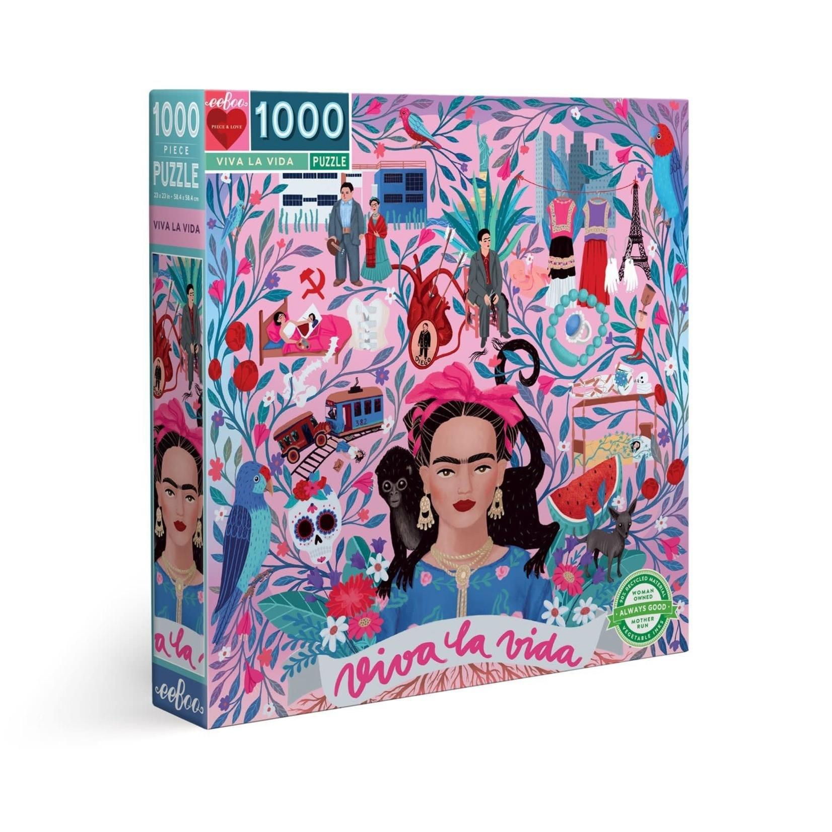 EEBOO VIVA LA VIDA 1000 PIECE PUZZLE
