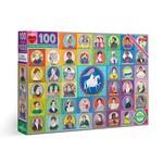 EEBOO VOTES FOR WOMEN 100-PIECE PUZZLE
