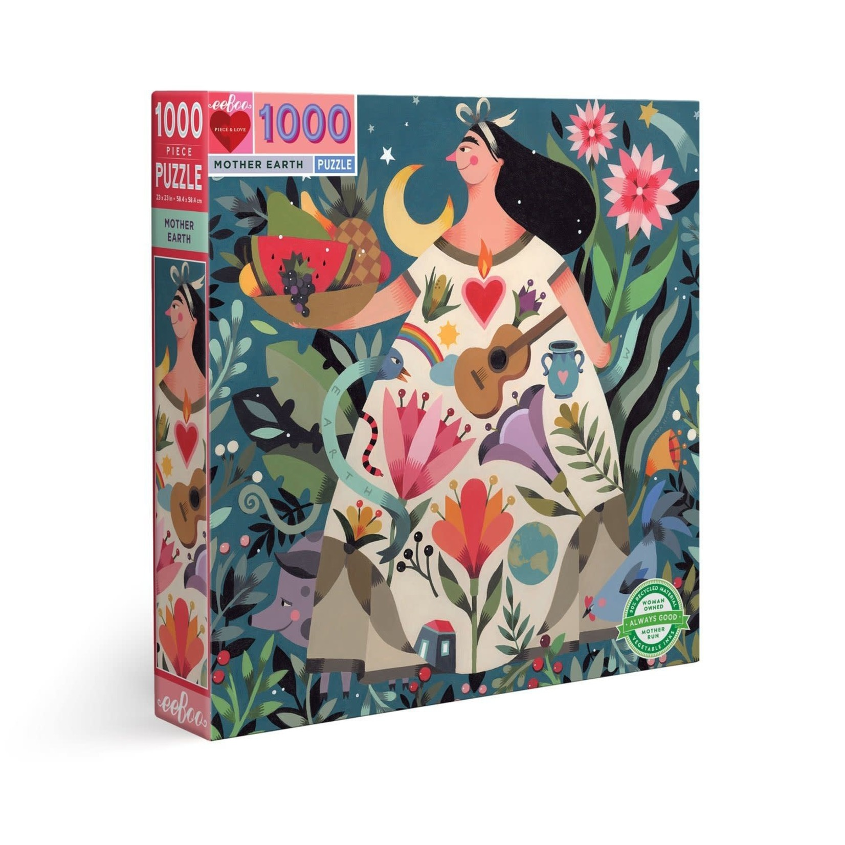 EEBOO MOTHER EARTH 1000-PIECE PUZZLE