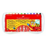 FABER-CASTELL 12CT BRILLIANT BEESWAX CRAYONS