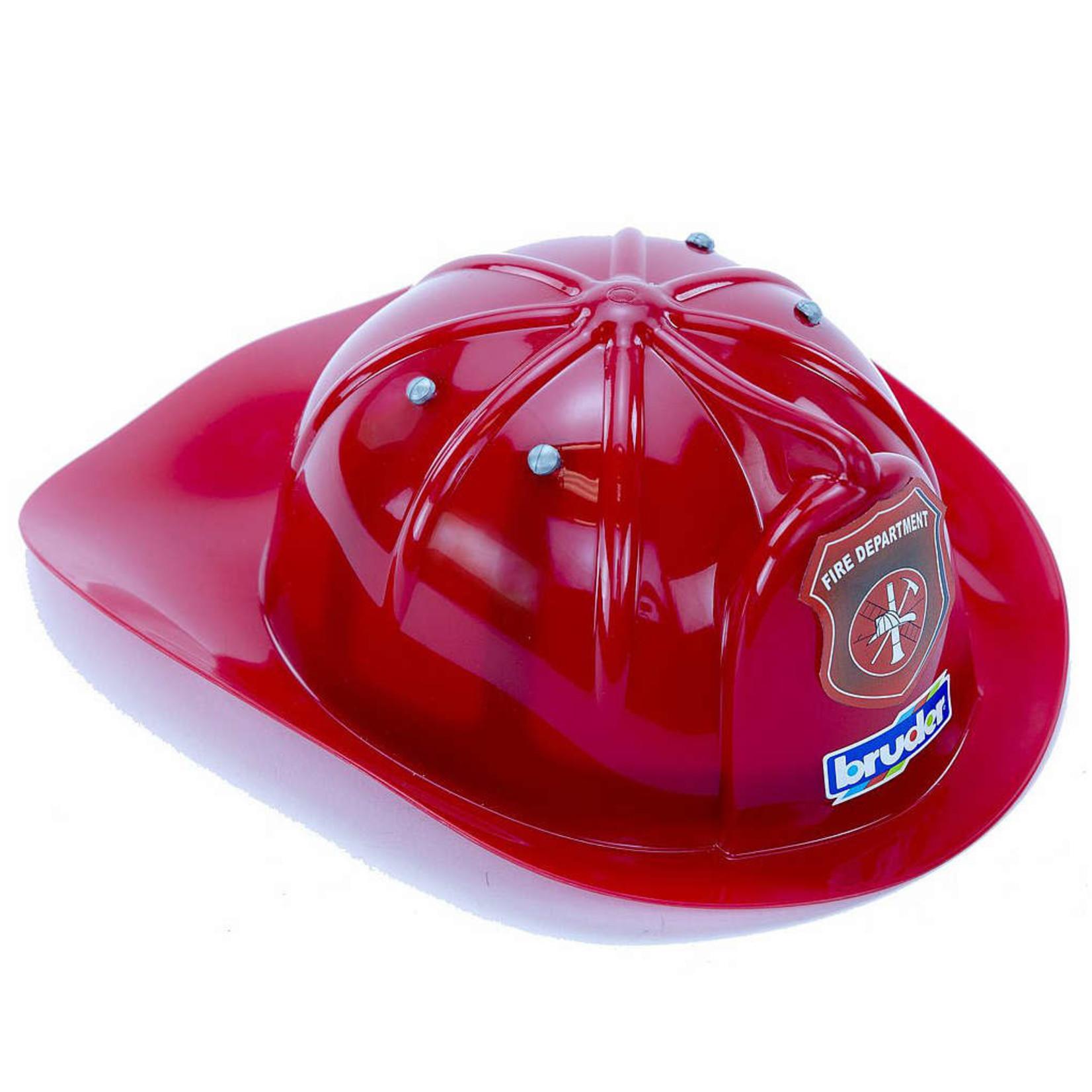 BRUDER RED FIRE HELMET
