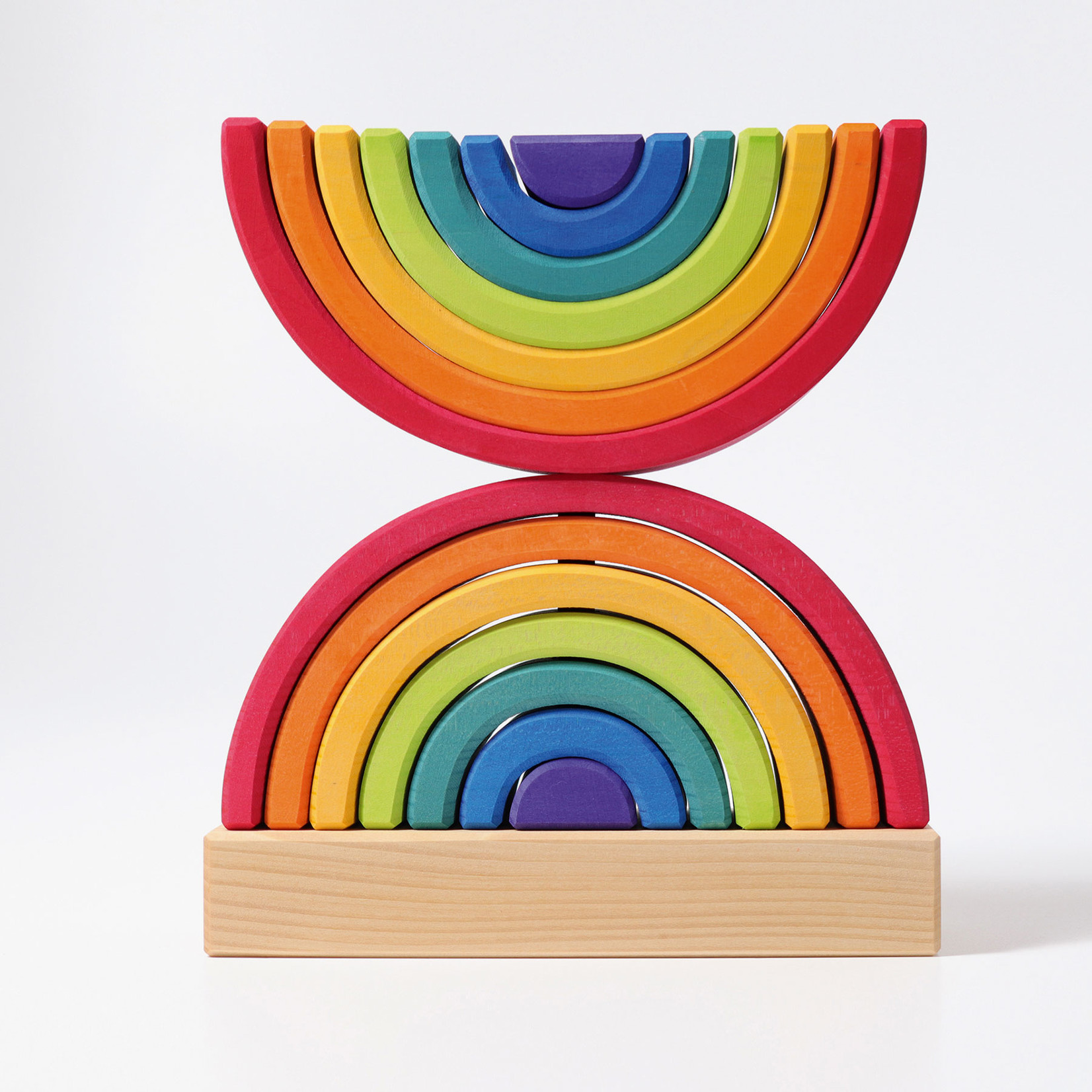 GRIMMS RAINBOW STACKING TOWER