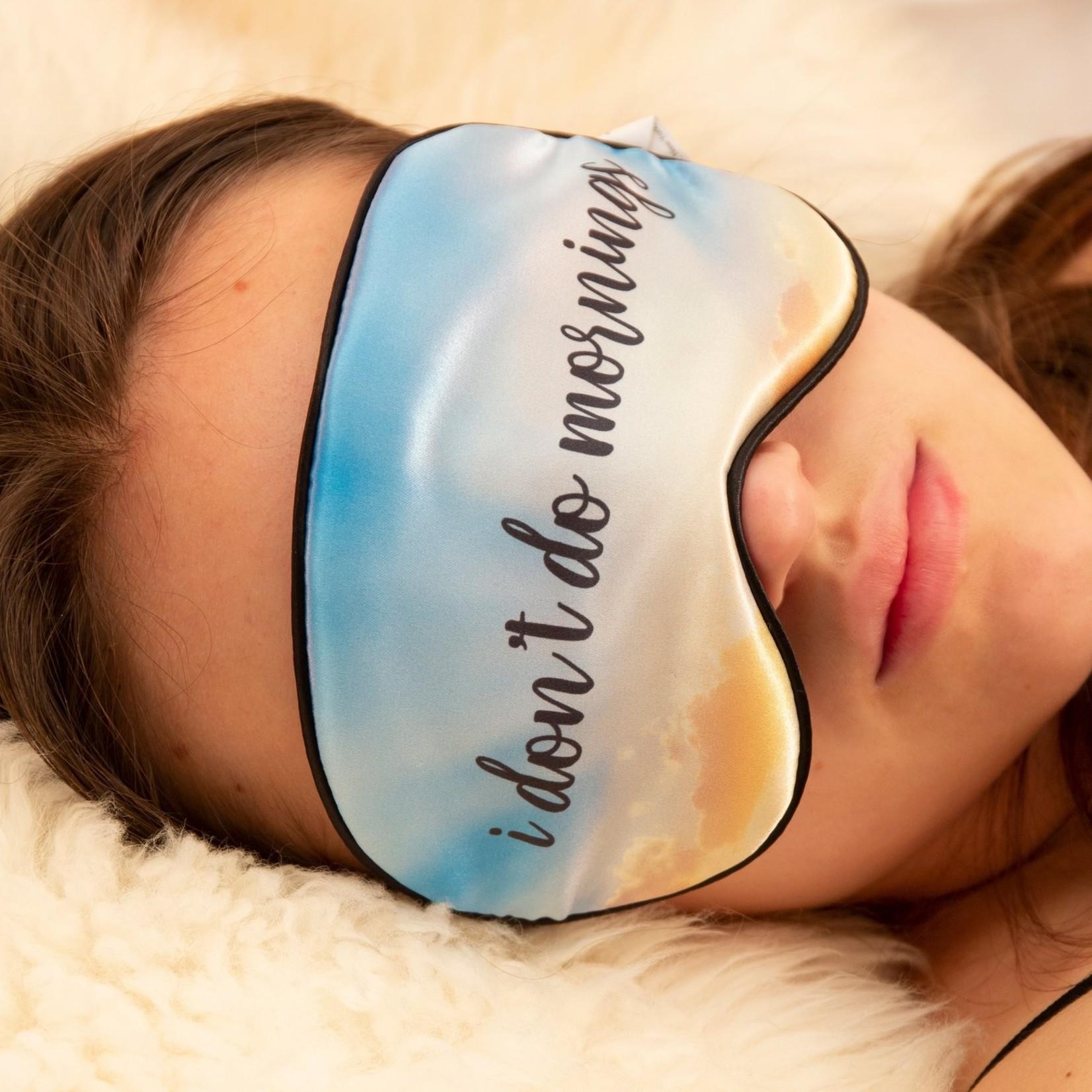 KIKKERLAND SLEEP MASK DONT DO MORNINGS