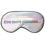 KIKKERLAND SLEEP MASK FIVE MORE MINUTES