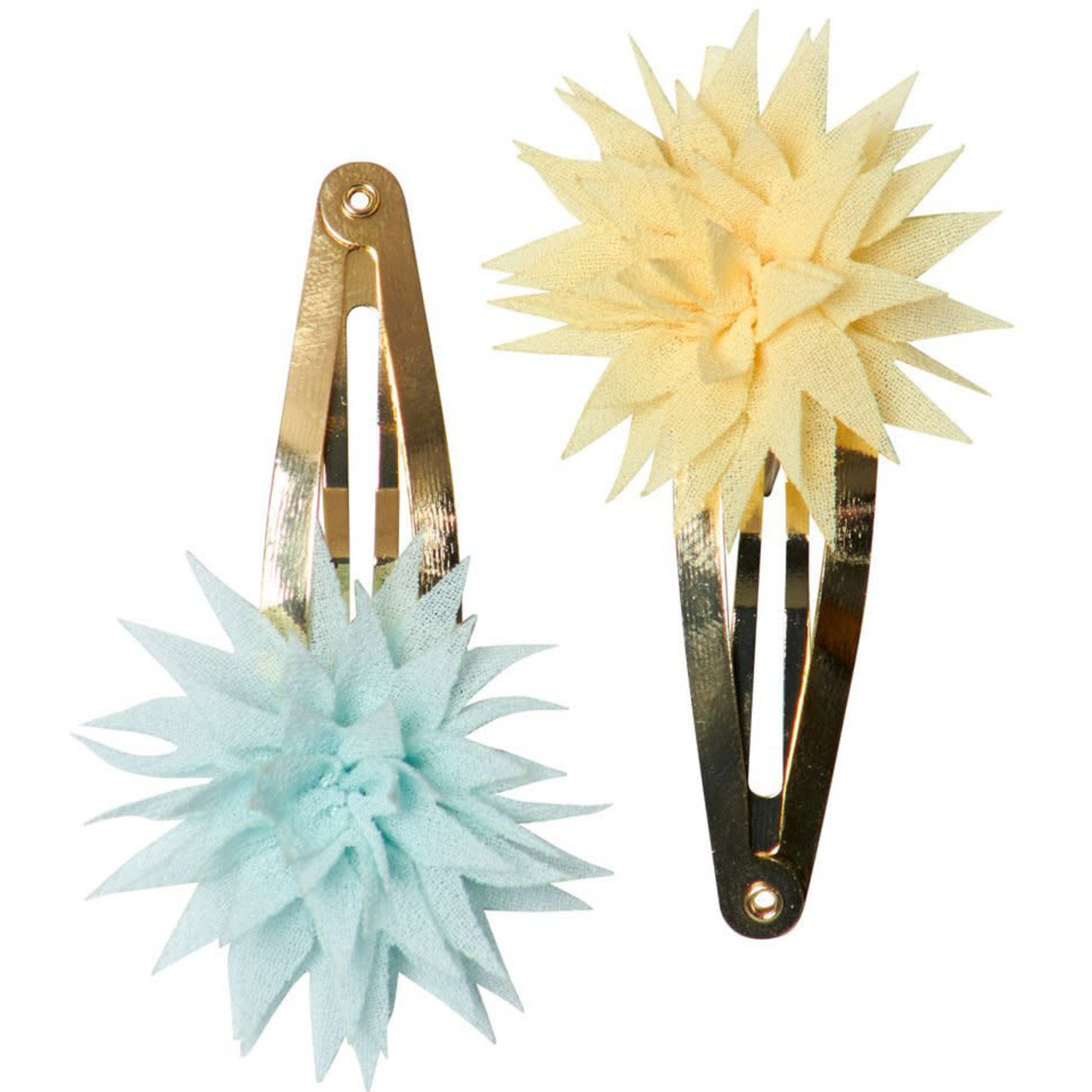 MAILEG DAHLIA FLOWER CLIPS, LEMON