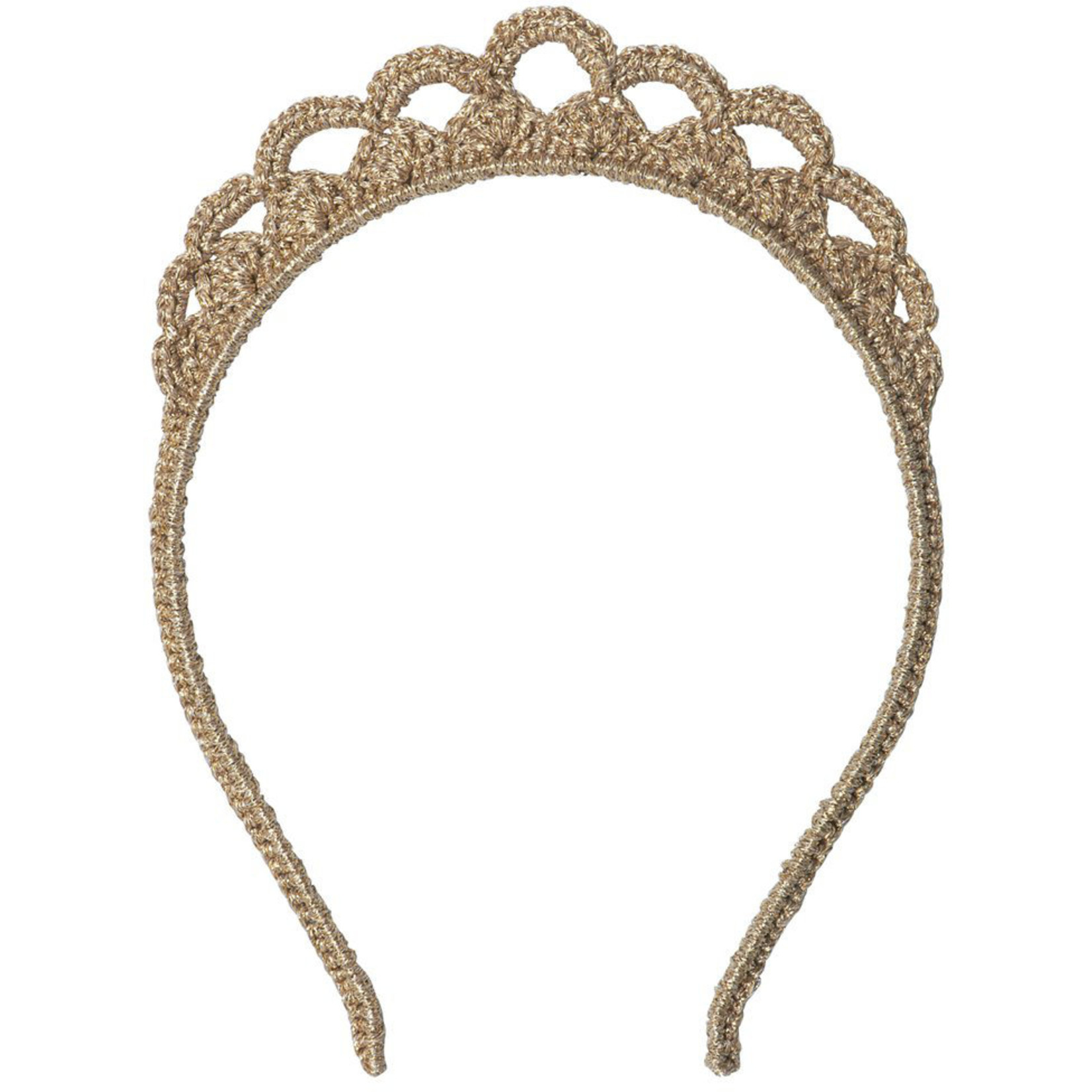 MAILEG HAIRBAND TIARA IN GOLD