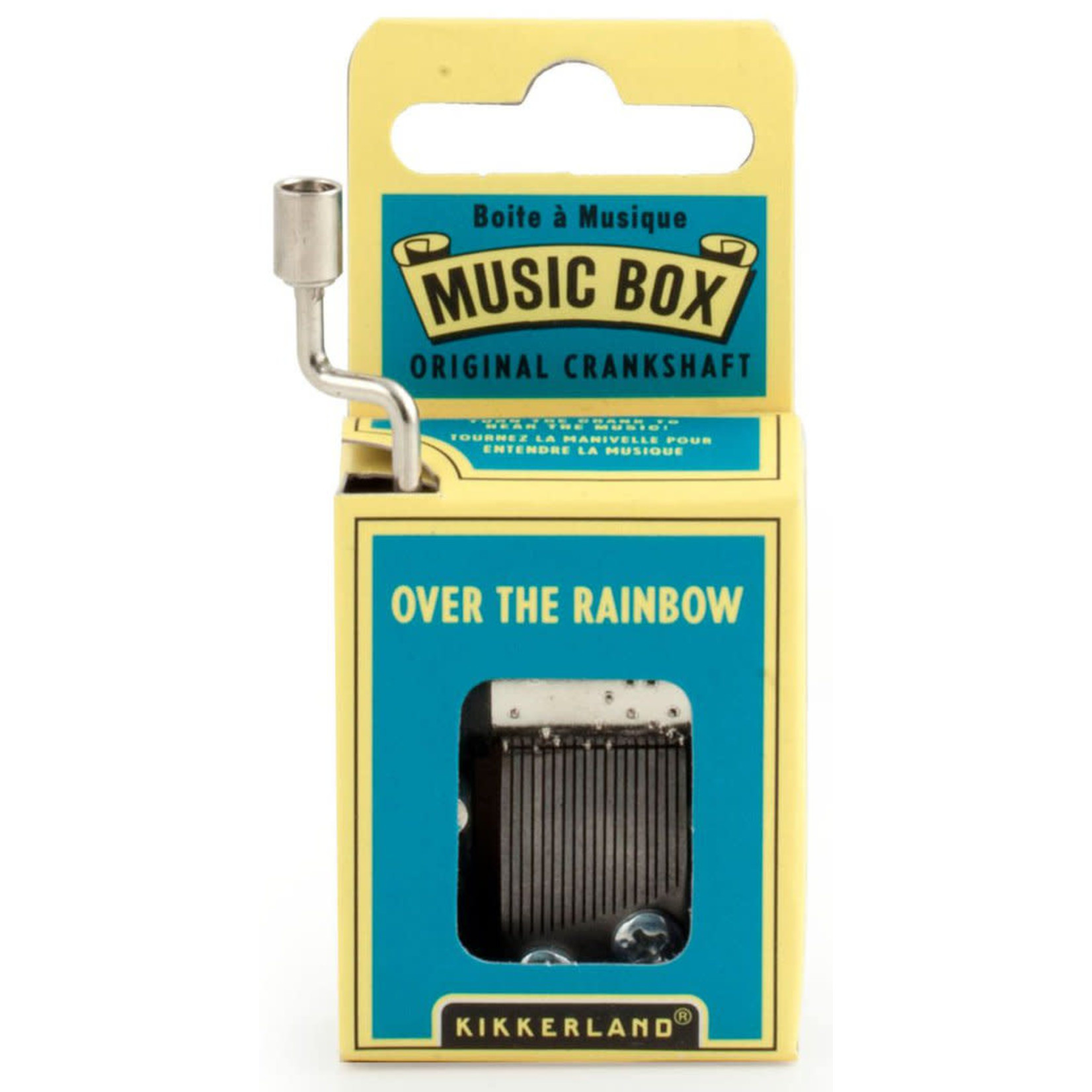KIKKERLAND OVER THE RAINBOW MUSIC BOX